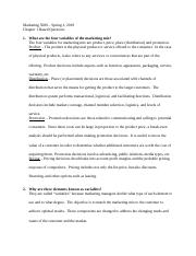 MRKT 5000 Chapter 1 Based Questions.docx