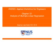 CN3421-Applied Statistics-Chapter12