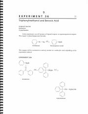 lab report on the grignard reaction