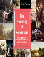 flowering of Romanticism