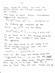 Complex Numbers 15