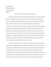 chicano young lords social movement essay.docx