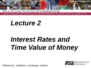 Lecture 2dm Time Value of Money