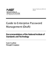 Guide to enterprise password mgt