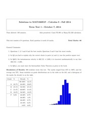 MATH 186 Fall 2014 Midterm 1 Solutions