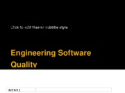 Software Quality Assurance_110110