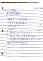 chapter 11 cell membranes notes