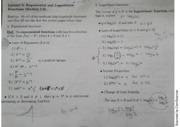 MAC2311 Lecture 5 exponential and logarithmic functions notes