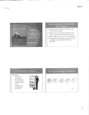 MGT 412 Foundation of Successful Management Notes
