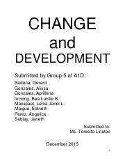 CHANGE_and_DEVELOPMENT