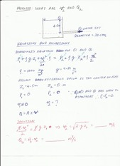 Worked Examples on Bernoullis equation