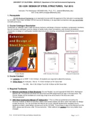 CE122-Fall-2015-Policy-and-Syllabus-Astaneh