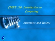 CMPE150-Ch8-Structures