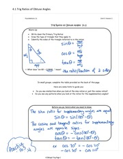 Trig Notes