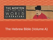 09_VolA_The_Hebrew_Bible.ppt