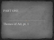 Lesson 03 - Themes of Art.pt01