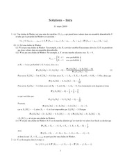 MAT 2717 Spring 2009 Midterm Exam Solutions