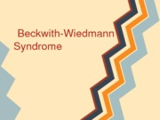 Beckwith-WiedmannSyndrome