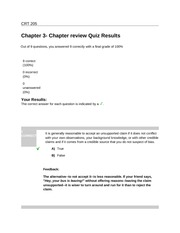 CRT205Chapter 3- Chapter review Quiz Results
