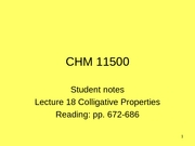 Student notes lecture 18 F08