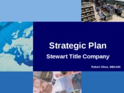 UofP - MBA580 - Individual Assignment - Final Strategic Plan Presentation - 10-07-06