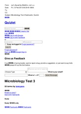 Microbiology Test 3 flashcards   Quizlet