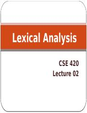 Lecture 02_Lexical Analysis_1
