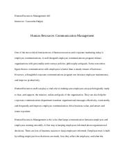 Bledi Demirazi Human Resources Communication Management.docx