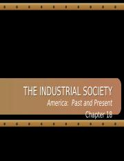 FH APUSH Chapter 18-The Industrial Society