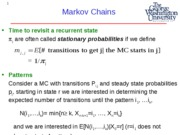 EMSE 208  Lecture 5 - Markov Chains Applications-1