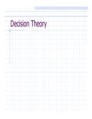 DecisionTheory
