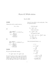 HW 6 solutions (Ch 15,16,17)