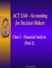 ACT 5140 Winter 2 2016 Chat 2 slides