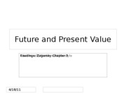 8Chapter 3 FutureValue_PresentValue