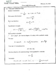 CHEM 120B - Spring 2010 - Geissler - Midterm 1 (solution)