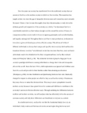 final essay edited withOUT titles page