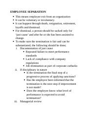 EMPLOYEE SEPARATION.docx