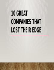 10 Great Companies That Lost Their Edge.pptx