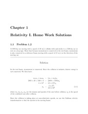 PHYS 205 Fall 2009 Chapter 1 Homework Solutions