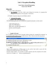 Lab 1 Exception Handling_Final