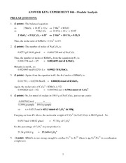 4B Post- + Pre-Lab Answer Keys