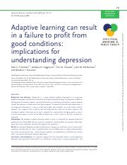 Trimmer et al 2015 Adaptive learning and depression.pdf