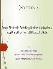 Chapter 7_Power Switches Applications
