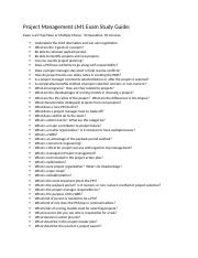 Project Management LM1 Exam Study Guide(1).docx