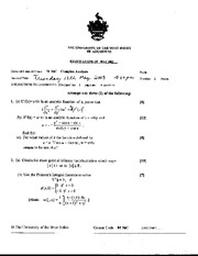 Complex Analysis May 2003 Final Exam