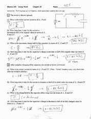 Chapter 28 Group Work 5 Solution