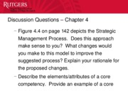 Chapter 4 - Discussion Questions