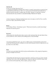 Perspectives Study Guide - Part 1