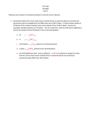 Quiz 8 Study Guide