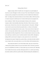 essay titles italicized list